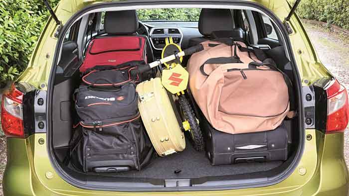 Der Suzuki SX4 ist um 16 Zentimeter gewachsen.
