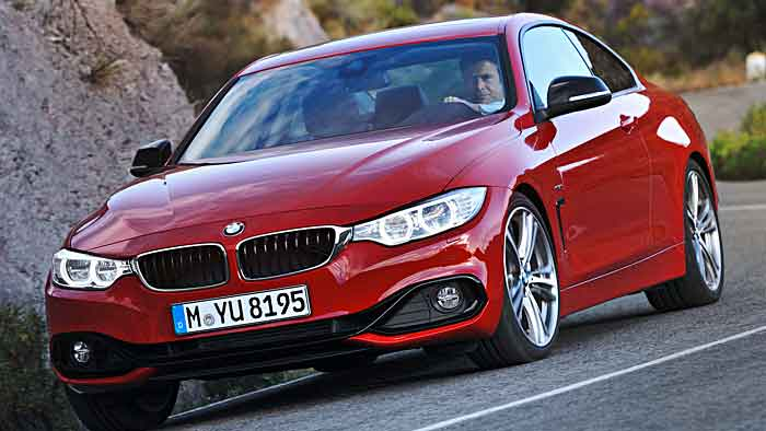 Der 4er BMW startet im Oktober.