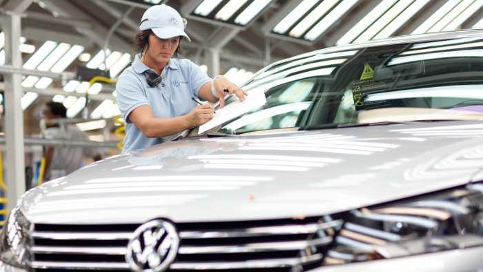 VW baut in Chattanooga derzeit nur den Passat.