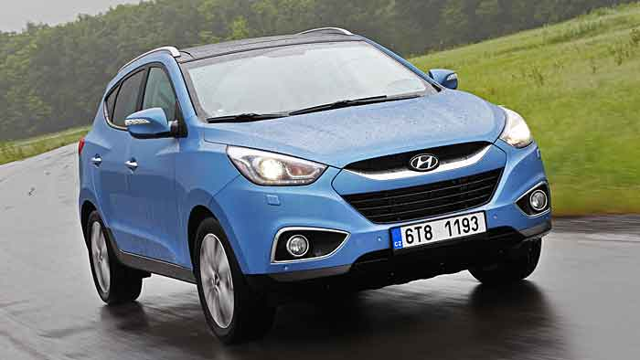 Hyundai hat den ix35 sehr dezent überarbeitet.