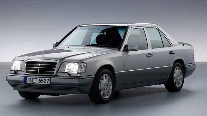 Die Baureihe W124 von mercedes war die derste Serienlimousine mit einem cW-Wert unter 0,30.