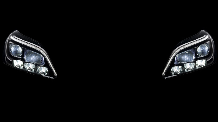 Mercedes führt neues LED-Lichtsystem ein.