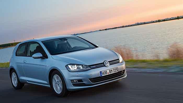 Der VW Golf TDI Bluemotion stößt lediglich 85 Gramm CO2 aus.