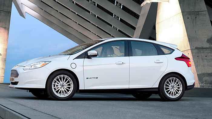 Der Ford Focus Electric kann auch geleast werden.