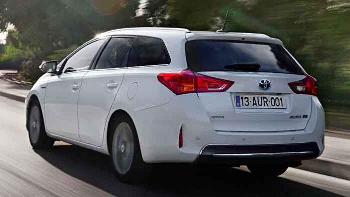 Den Toyota Auris Touring Sports gibt es auch als Vollhybriden.