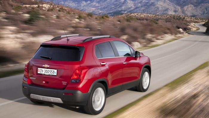 Chevrolet Trax: SUV mit Eroberungspotenzial