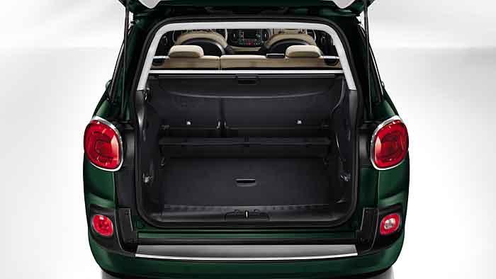 Der Fiat 500L Living ist auf 4,35 Meter angewachsen.
