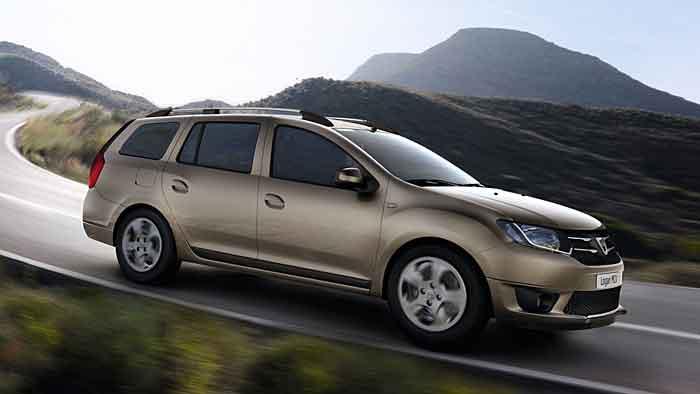 Das Ladevolumen des neuen Dacia Logan MCV ist dem frischen Design gewichen.