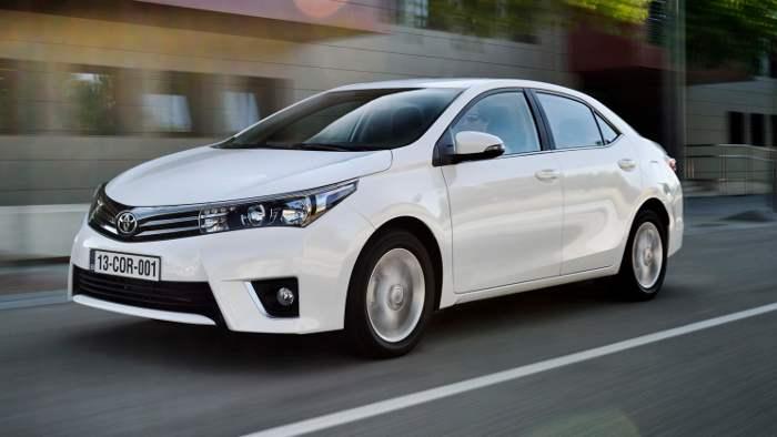 Der Toyota Corolla kommt bei den Kunden an.