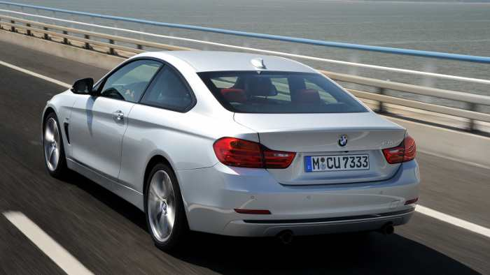 Der BMW 435i.