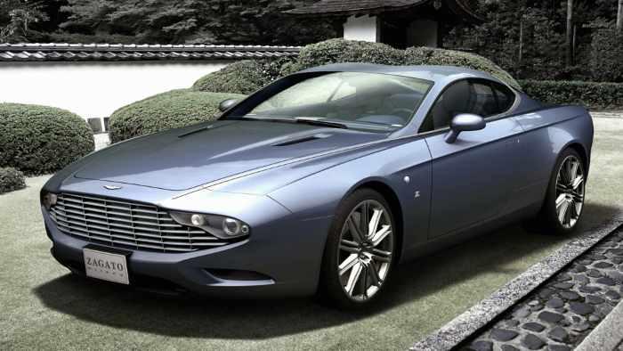 Ein Aston Martin veredelt von Zagato