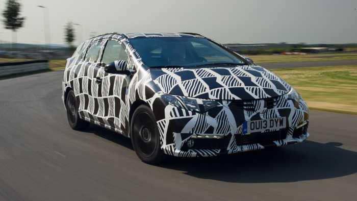 Honda Civic Tourer erhält adaptives Dämpfersystem
