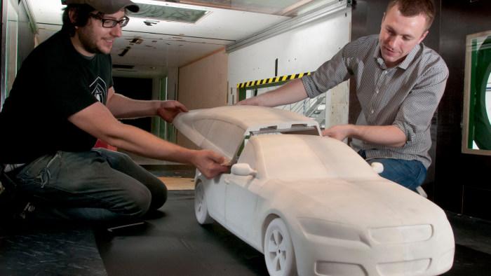 Aerodynamik: Wenn die Luft auf der Bremse steht