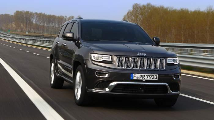 Der Jeep Grand Cherokee.