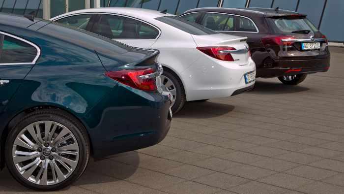 Das Heck des neuen Opel Insignia