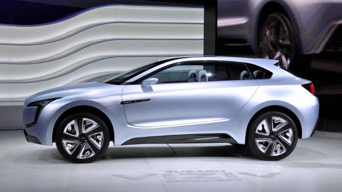 Diesel-Hybrid-Studie Subaru Viziv