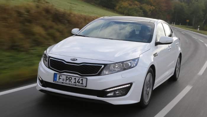 Den Kia Optima wird es ab 2016 auch als Plug-in-Hybrid geben.