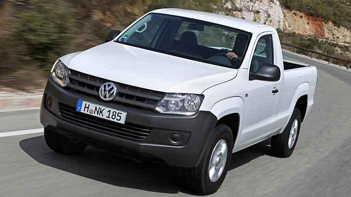 Der VW Amarok.