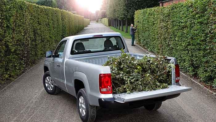 Der VW Amarok kann besonders in ländlichen Gegenden seinen Stärken ausfahren.