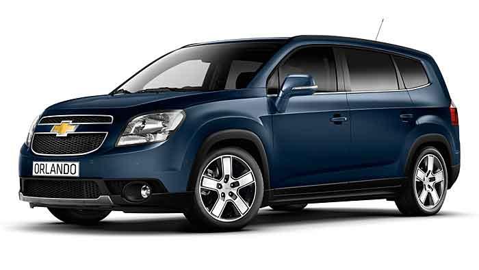 Chevrolet hat den Orlando für das Modelljahr 2014 aufgewertet.