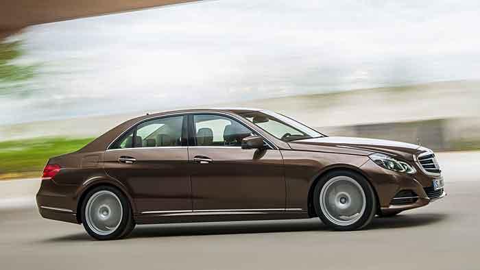 Die Mercedes E-Klasse ist bestes Fahrzeug aller Klassen.