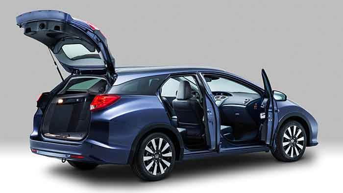 Der Honda Civic Tourer feiert Premiere auf der IAA.