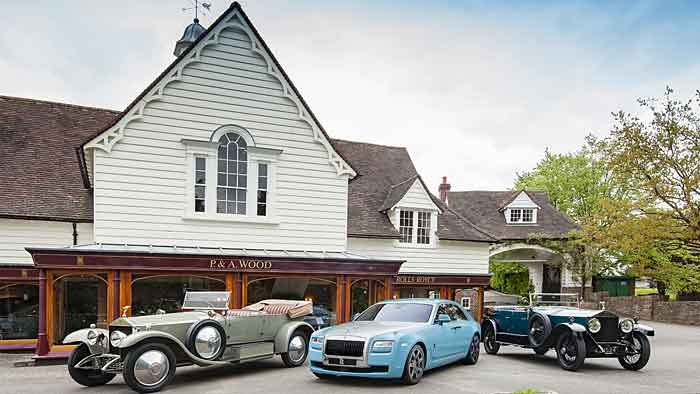Rolls-Royce Phantom und Ghost: Nostalgie fährt mit