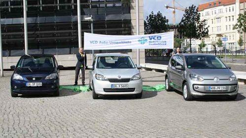 Die Erdgas-Varianten vom VW Up, Seat Mii und Skoda Citigo