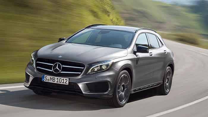 Kompakte wie der GLA geörten zu den Wachstumstreibern bei Mercedes.