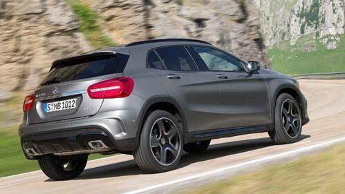 Der Mercedes GLA schafft einen Cw-Bestwert bei den Kompakt-Premium-SUV.