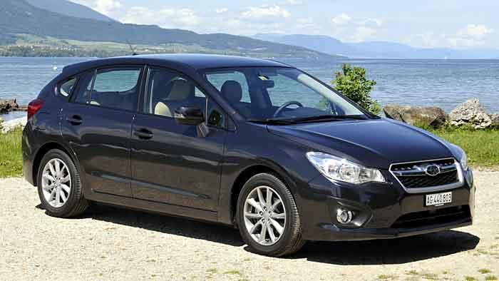 Subaru Impreza: Date mit einem Unbekannten