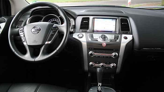 Der Nissan Murano ist gut zum Cruisen geeignet.