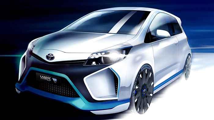 Toyota zeigt auf der IAA den Hybrid-R.