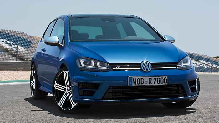 Der neue VW Golf R verfügt über 300 PS.
