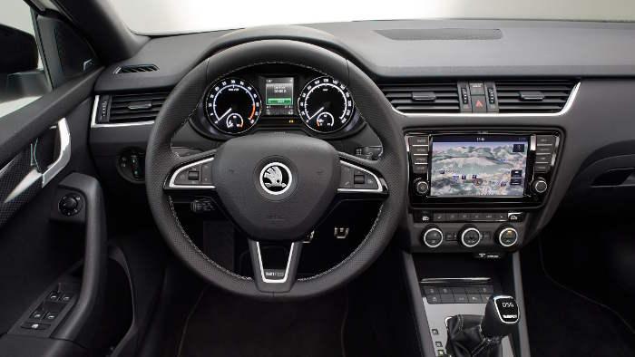 Das Cockpit im neuen Skoda Octavia RS