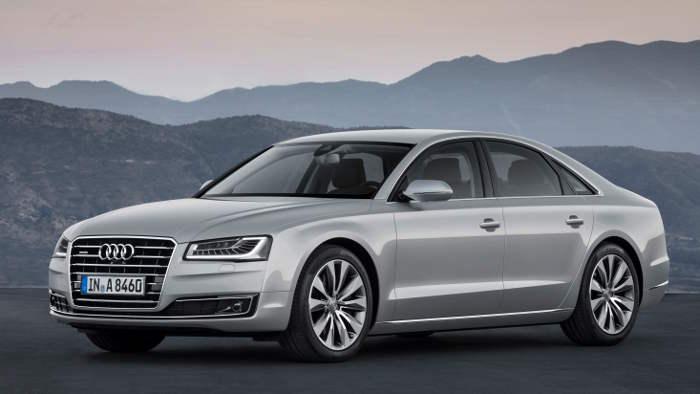 Der neue Audi A8 wird auf der IAA präsentiert.