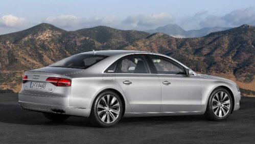 Der neue Audi A8.