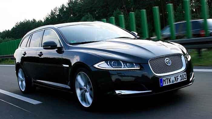 Der Jaguar XF Sportbrake