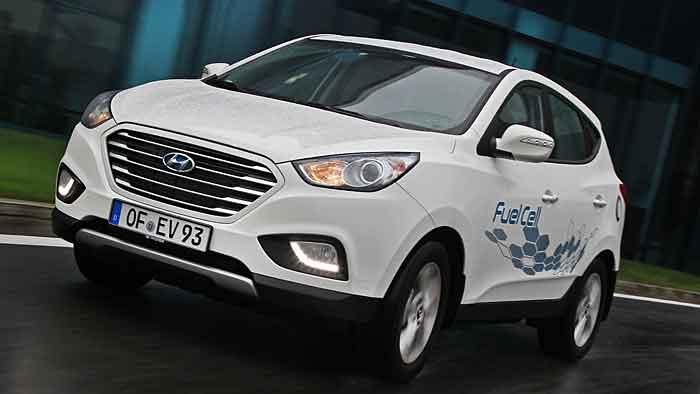 Bereits in Kleinserie am Start: Das Brennstoffzellenauto Hyundai ix35 FuellCell