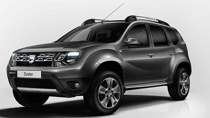 Optische Aufmunterung für Dacia Duster
