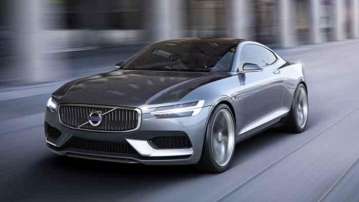 Mit dem Concept Coupe gibt Volvo einen Ausblick auf die neue Designsprache.