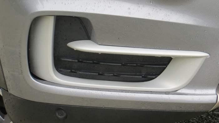 Air Curtains am BMW X5