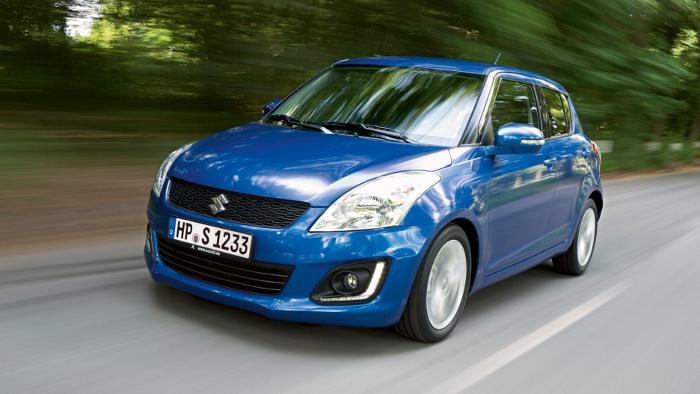 Neuer Suzuki Swift verbraucht weniger