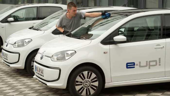 Der VW E-Up.