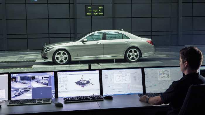 Neuer Windkanal von Daimler