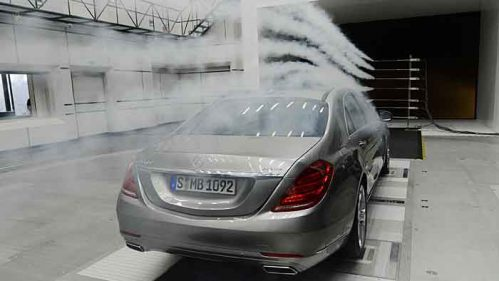 Mercedes hat den neuen Windkanal eingeweiht.