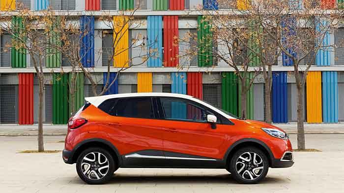 Der Renault Captur ist nicht für die Geländefahrt geschaffen.