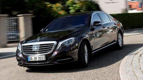 Autonomes Fahren im Mercedes S 500 Intelligent Drive