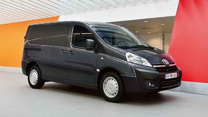 Der Toyota Proace ist das erste Fahrzeug aus der Kooperation mit PSA.