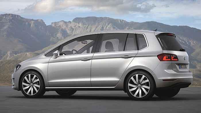 Der Sportsvan löst den VW Golf Plus ab.